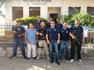 Condeúba: Grande operação da Polícia Civil cumpre mandados de prisão na cidade