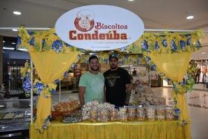Projeto Biscoitos: produtos de Condeúba e Vitória da Conquista estão expostos no Shopping Conquista Sul