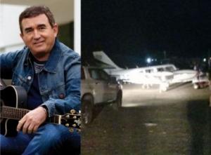 Susto: Avião de Amado Batista faz pouso de emergência em Jequié