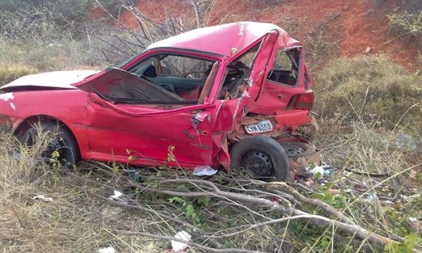 Brumadenses sofrem grave acidente na BA-026, em Malhada de Pedras