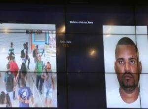 Sistema de reconhecimento facial identifica homicida em estação de metrô nesta sexta