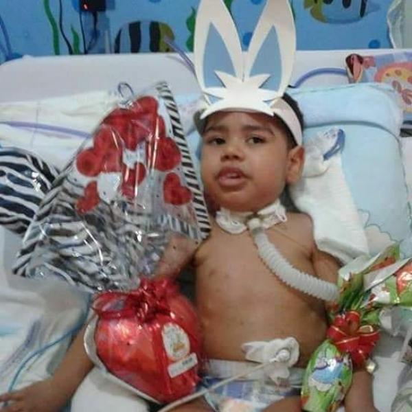 Luto em Condeúba: Ryan Guilherme Sampaio, aos 6 anos de idade