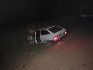 Colisão entre carro e moto nas proximidades de Piripá deixa homem gravemente ferido