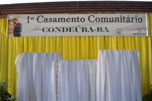 CONDEÚBA: Município realiza casamento comunitário para 25 casais