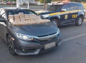 Barreiras: Homem é preso ao tentar levar 42 kg de crack para Formosa do Rio Preto