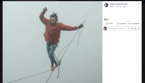 Homem morre após ser resgatado de queda de highline na Serra do Curral em BH, dizem bombeiros