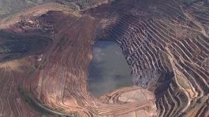 Movimentação de talude de mina da Vale em Barão de Cocais chega a 42,4 cm por dia, segundo ANM