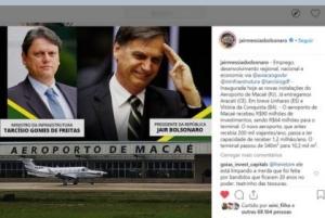 Aeroporto Glauber Rocha: Bolsonaro sinaliza inauguração, mas ainda não anunciou a data em Vitória da Conquista