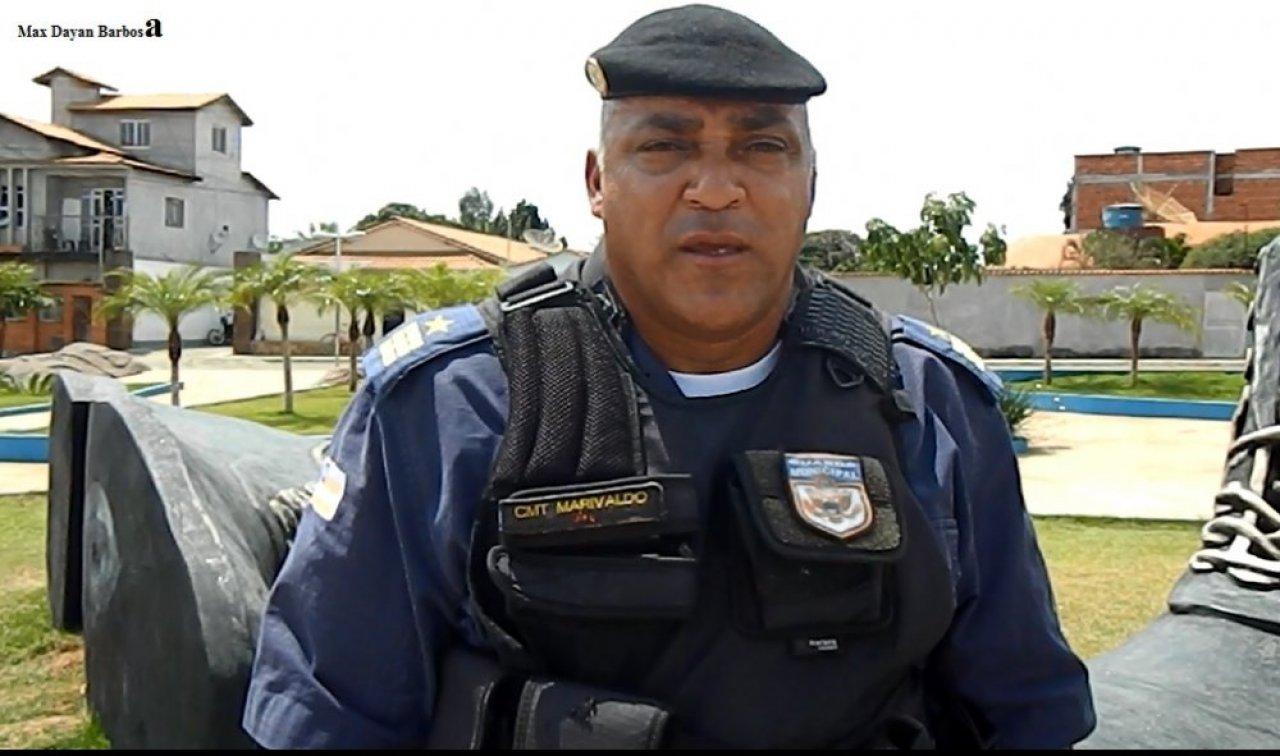 Matéria Sobre projeto de implantação da Guarda Municipal em Mortugaba