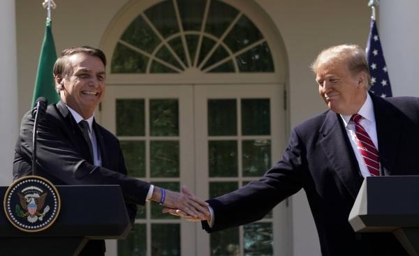 Bolsonaro nos EUA: O primeiro encontro entre os presidentes do Brasil e dos Estados Unidos