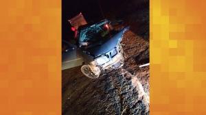 Grave acidente foi registrado com caculeenses na BA-617 entre Ibiassucê e o distrito de Pancadão